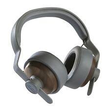 Grain Audio OEHP.01 Solid Wood Headphones, Walnut Finish, Brown/Gray