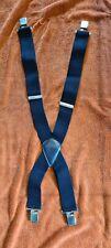 Oxford Rigger Black Braces