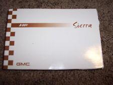 2004 GMC Sierra Owner Operator Manual SLE Work Truck SLT V6 V8 4.3L 4.8L
