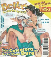 BELLAS DE NOCHE MEXICAN COMIC #162 MEXICO SPANISH SPICY HISTORIETA 1998
