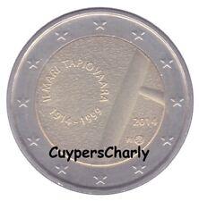 Finland 2014 2€ Ilmari Tapiovaara UNC