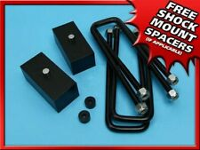 2 Rear Black Billet Lift Kit For 86 98 Toyota Pickup Ifst 100 Spring Over Axle Fits Toyota Pickup