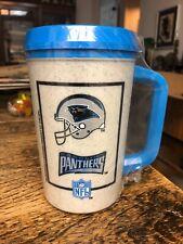 Rare Vintage New Aladdin Carolina Panthers  NFL 7 - 11 Insulated  Mug Cup
