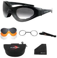 Bobster Eyewear SpekTrax Sunglasses/Goggles Black BSTT0C1AC 50-0151 2601-0000