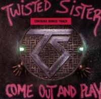 """TWISTED SISTER """"COME OUT AND PLAY"""" CD NEW!"""