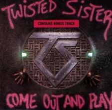 """TWISTED SISTER """"COME OUT AND PLAY"""" CD NEW+"""