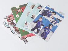 Superman Returns Triplets Photo Postcard Set + Sticker KPOP Post Card Korean
