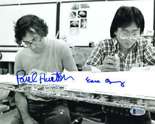 PAUL HUSTON EASE OWYEUNG SIGNED AUTOGRAPHED 8x10 PHOTO ILM STAR WARS BECKETT BAS