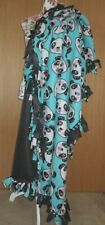 Cute Happy Panda Present Large Handmade Throw Blanket Gift For Him or Her