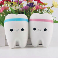 Funny Tooth Shaped Slow Rising Squeeze Healing Toy Stress Relieve Toy Kids Toy