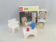 Lego Homemaker - 270 Grandfather Clock, Chair and Table