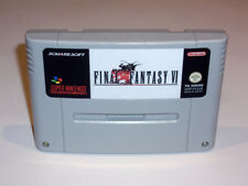 FINAL FANTASY VI - PAL EN FRANÇAIS GAME - SUPER NINTENDO SNES FRENCH - 6 SIX