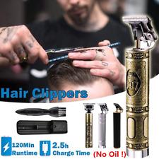 ELECTRIC PRO LI T-OUTLINER CORDLESS TRIMMER WIRELESS PORTABLE HAIR CLIPER KEMEI
