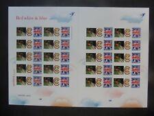 GB Rojo Blanco Azul tocones de cricket Bola MCC señores Bletchley Park Smiler 8 de 100