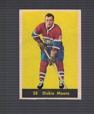 Dickie Moore Montreal Canadiens 1960-61  Parkhurst Hockey Card #38