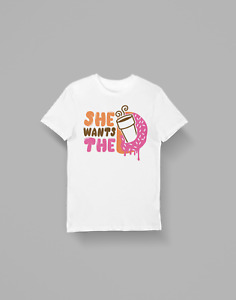 Just Donut Funny Parody tee top UnisexT Shirt B718