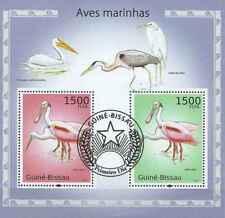 Timbres Oiseaux Guinée Bissau BF545 o année 2010 lot 23393 - cote : 16 €