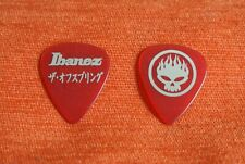 Mediator Guitare Guitar PICK THE OFFSPRING Ibanez Red
