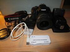 Canon EOS 600D Camera and Accessories
