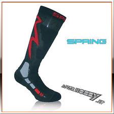 CALZETTONI STRADA SPRING TOURING SUMMER SOCKS NERO ROSSO TAGLIA L  42 / 44