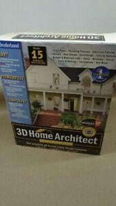 3D Home Architect Deluxe 5 Borderbund Windows 2000 Xp/me/xp sp1 OpenBox