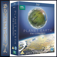 PLANET EARTH - COMPLETE COLLECTION - DAVID ATTENBOROUGH NEW BLURAY REGION FREE