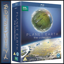 PLANET EARTH - COMPLETE COLLECTION - DAVID ATTENBOROUGH *BRAND NEW BLURAY**