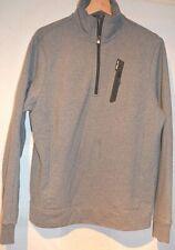 RLX ~Ralph Lauren Smart Custom Fit Designer Grey Tracksuit Top M