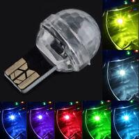 2020 Mini Colorful LED USB Decor Car Interior Light Atmosphere Neon Music Lamp