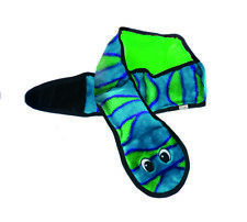 Petstages Outwardhound Invincible Snake Blue/Green 6 Squeakers