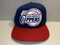 Los Angeles Clippers Mitchell & Ness Retro NBA Hat Adjustable Snapback Blue/Red