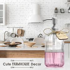 Premium Dish or Hand Soap Dispenser or Lotion Pump Vintage Inspired Kitchen