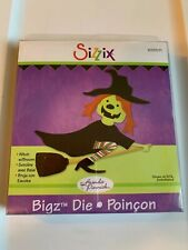 Sizzix Bigz Scrapbooking Die Witch w/Broom 655571 New