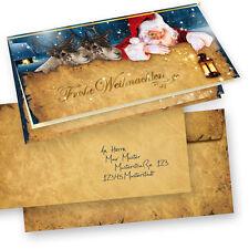 Weihnachtskarten Nordpol Express 50 Sets geschäftlich mit Umschlag