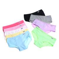 Women's Briefs Cotton Comfortable Panties Lady Lingerie Underwear Underpants MEU