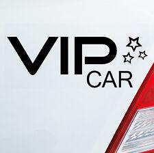 Auto Aufkleber Sticker VIP Car V.I.P. Stern Sticker Girl Mädchen Star VIP 304