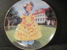 Danbury Mint 1991 Shirley Temple The Little Colonel Ltd Ed Plate