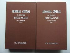 Armorial général de France. Bretagne (2 vol.), 1977
