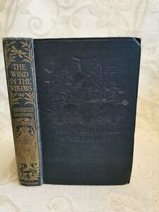Antique Book Of The Wind In The Willows, By Kenneth Grahame - 1923