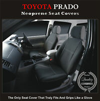SEAT COVER fits TOYOTA PRADO 90 SERIES (1996--2002) FRONT WATERPROOF