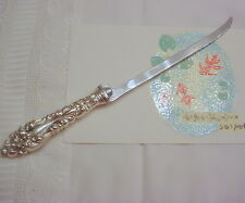 Antique AMSTON Sterling Filet Knife CRESCENDO-ATHENE Pattern