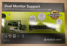 Io Gear Gcs1744 4-port Dual View Kvm Switch