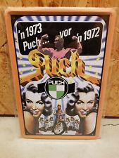 Blechschild - Puch 1973 - 20x30cm