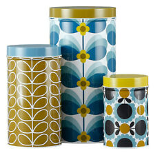 Orla Kiely Set of 3 Assorted Storage Tins