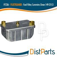 FF236 Fleetguard Fuel Filter, Replaces (Cummins Onan 149-2513)
