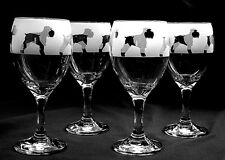 More details for schnauzer dog wine glasses..boxed