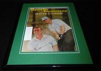Jack Nicklaus Arnold Palmer Framed ORIGINAL 1965 Sports Illustrated Cover