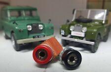 Land Rover Serie 1 2a 3 Inox Cruscotto Ispezione Lampada 12v Spina Power Prese