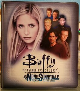 Inkworks Buffy Vampire Slayer - Men Trading Card Binder Collectors 3 Ring Album