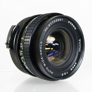 Vivitar Auto Wide-Angle 28mm f/2.5 MF Lens   M42 Screw Mount    Excellent ++